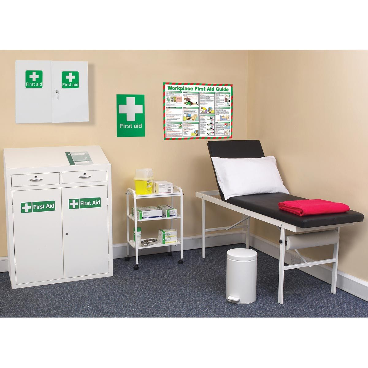 First aid room requirements singapore zoo