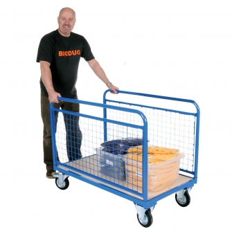 Double Mesh Sided Trolley