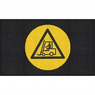 Entrance Mats With Integral Safety Signs