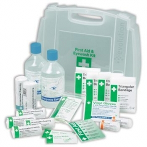 Eyewash First Aid Kits 1-10 Persons