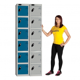 Fast Delivery Lockers Six Door