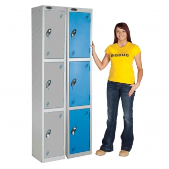 Fast Delivery Lockers Three Door