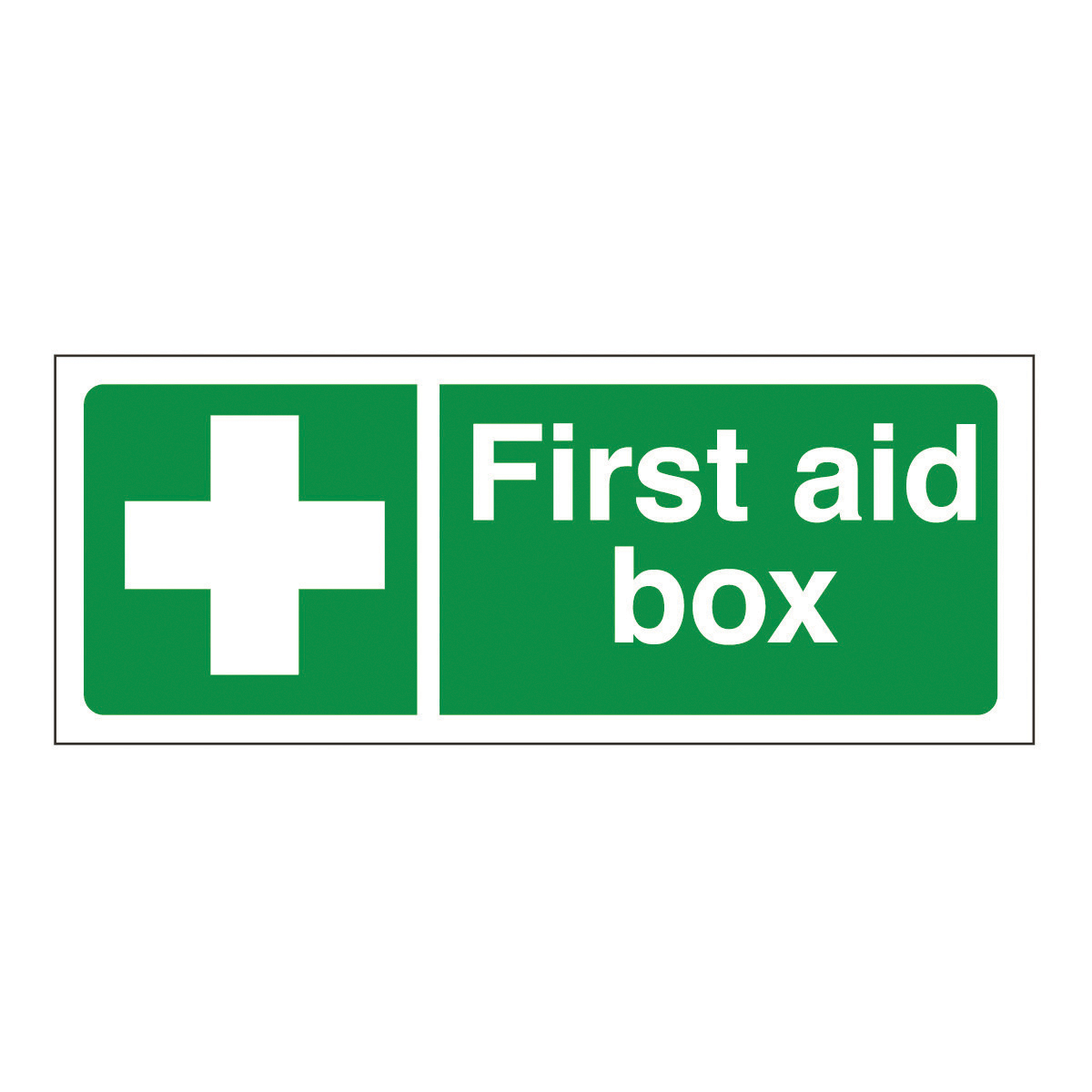 Signs Safety First First Aid Box Safety Signs