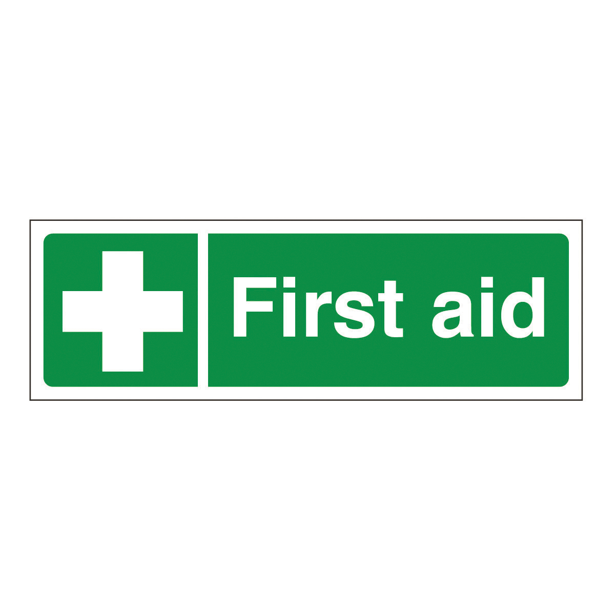 First Aid Safety Signs From Bigdug First Aid Sign From
