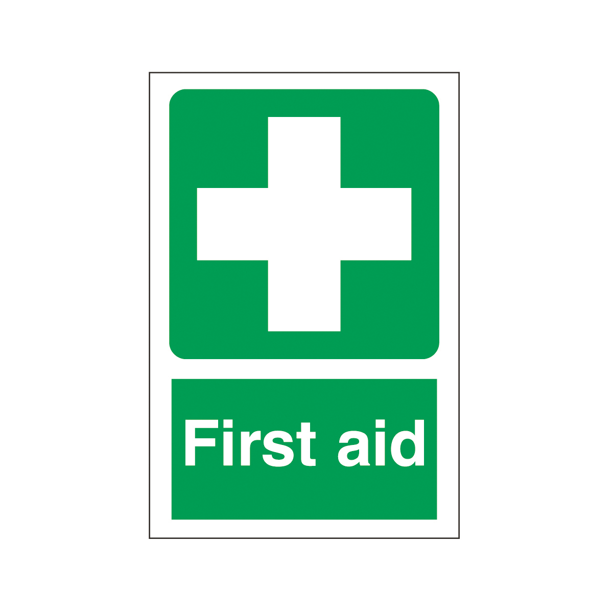 First Aid Safety Signs Warehouse Signs Amp Label From