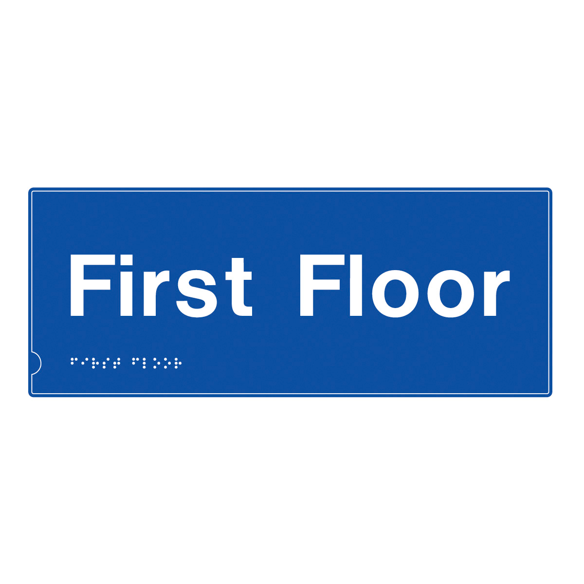 First Floor Safety Signs Braille Amp Tactile Sign From