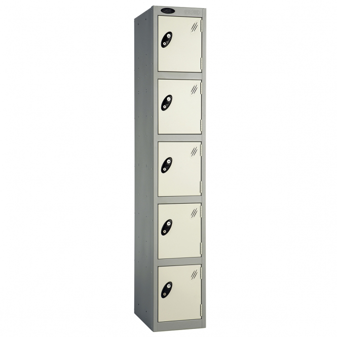 Five Door Lockers 460mm Deep