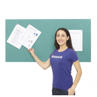 Flame Retardant Notice Board 1200 x 1200mm