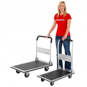 Folding Load Carrier Platform Trolley