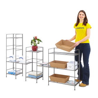 Folding Steel Shelving