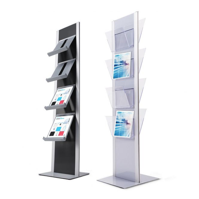 Freestanding Brochure Racks