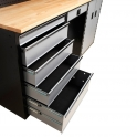 Garage Storage Cabinet System - Base Drawer Set