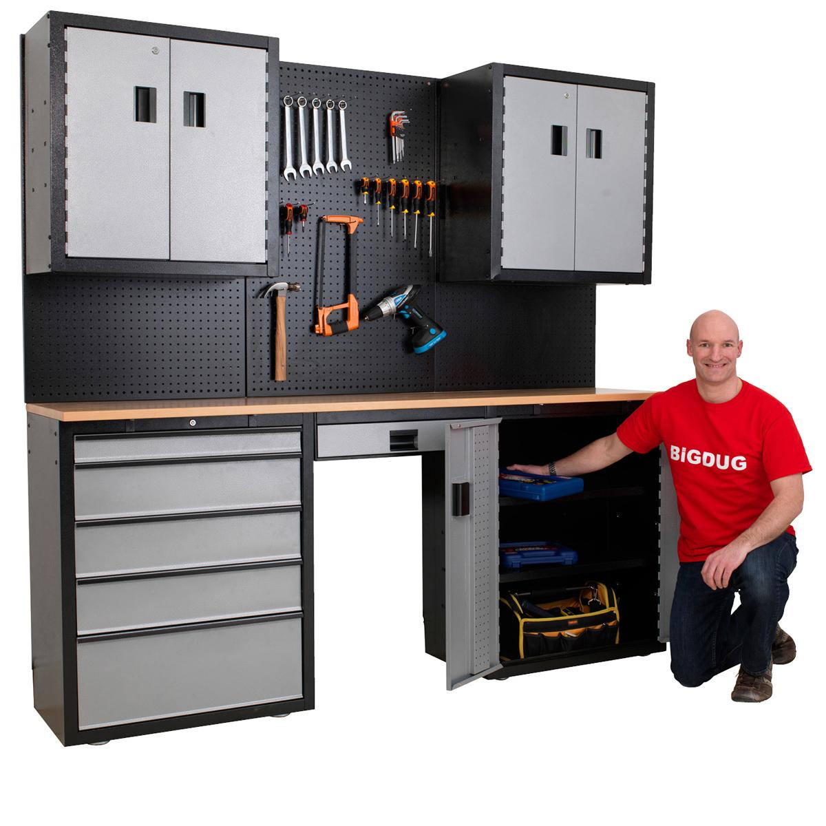 Garage Storage Units #19: Garage Storage Cabinet System Mega Deals