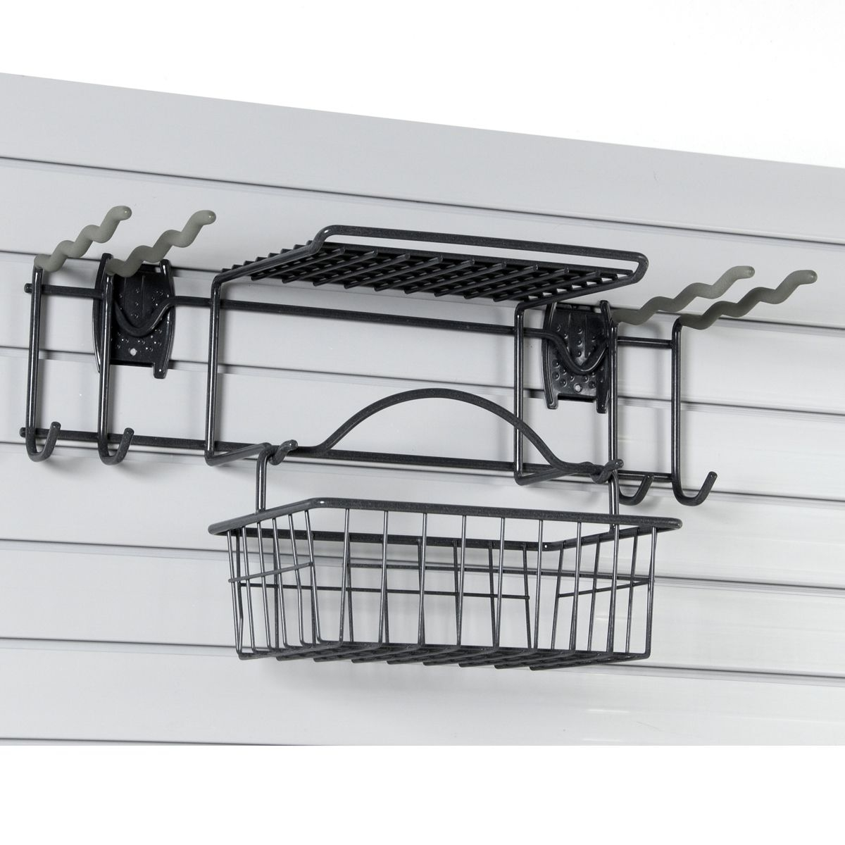 Garden Tool Rack For Slatwall Or Wire Mesh Panels Garage Wall
