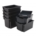 Gratnells Black Storage Trays