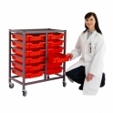 Gratnells Mobile Adjustable Tray System