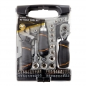 Grey Stubby Multi Tool Set 40pcs