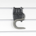 Grip Hook For Slatwall Or Wire Mesh Panels