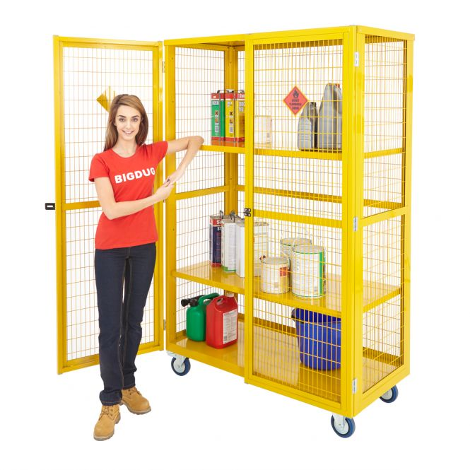 Hazardous Storage Trolleys