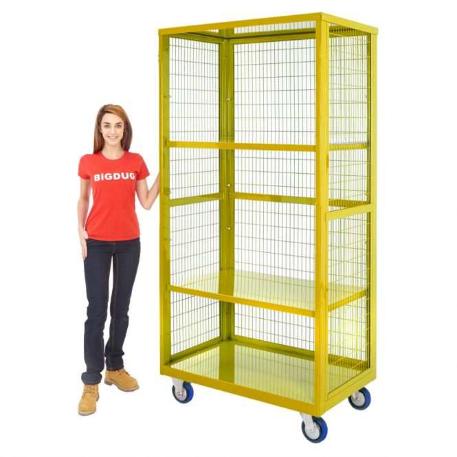 Hazardous Storage Trolleys (Without Doors)