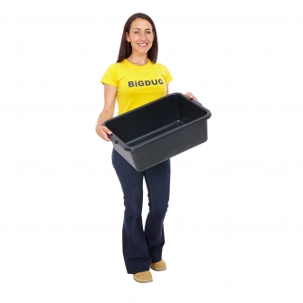 Heavy Duty Black Plastic Containers