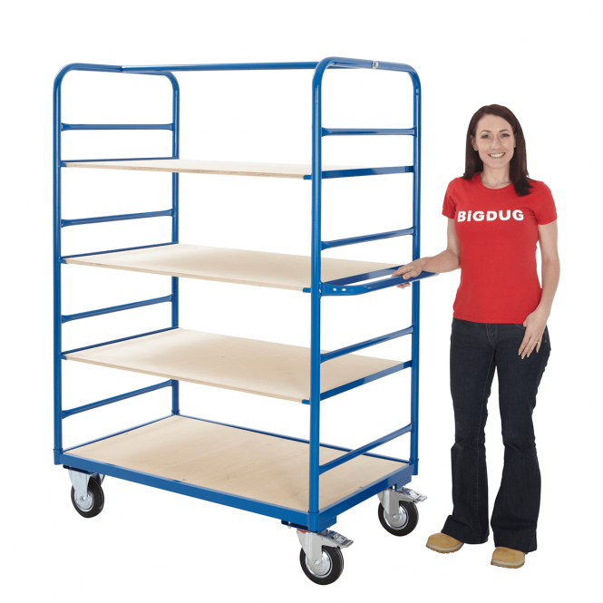 Heavy Duty Shelf Trolley