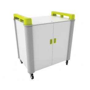 LapCabby Mobile Netbook And Tablet Vertical Storage Cupboards With 32 Ports