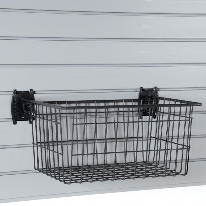 Large Basket For Slatwall Or Wire Mesh Panels