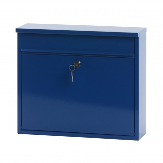 Large Metal Letter Box with Sloped or Flat Roof
