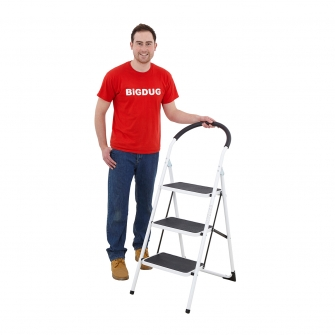Lightweight Safety Step Ladders