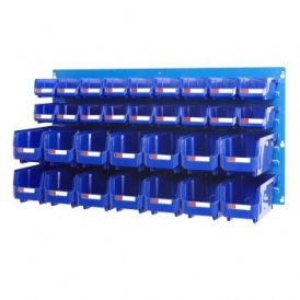 Louvre Panel 1 Ultra Bin Kits Blue