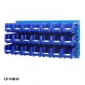Louvre Panel 1 Ultra Bin Kits Blue