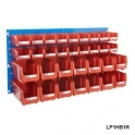 Louvre Panel 1 Ultra Bin Kits Red
