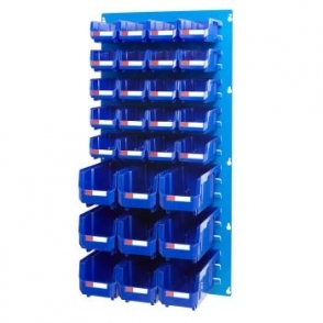 Louvre Panel 2 Ultra Bin Kits Blue