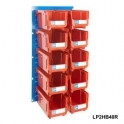 Louvre Panel 2 Ultra Bin Kits Red