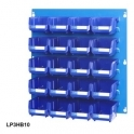 Louvre Panel 3 Ultra Bin Kits Blue