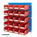 Louvre Panel 3 Ultra Bin Kits Red