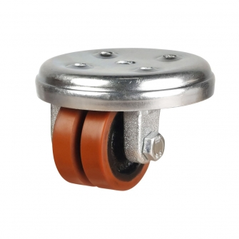 Low Level 59 Series Castors With Polyurethane On Cast Iron Wheels