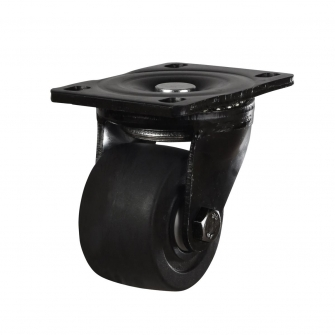 Low Level 59 Series Castors With Solid Nylon Wheels