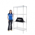 Medium Duty Chrome Shelving