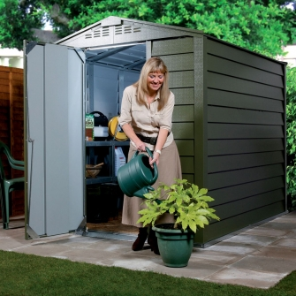 Metal Apex Storage Sheds