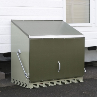 Metal Garden Storage Boxes