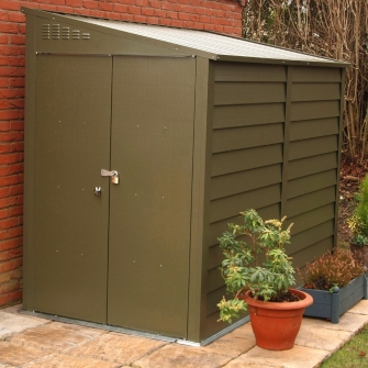 Metal Pent Storage Sheds