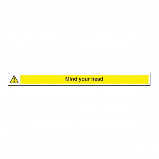 Narrow Mind Your Head Safety Sign