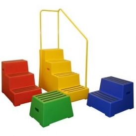 Non Slip Plastic Safety Steps