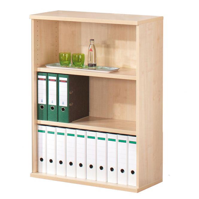 Novara Open Shelf Filing Cupboards