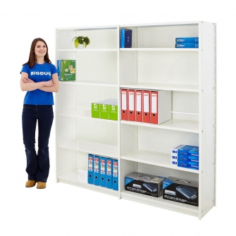 Office Shelving System Clad Back