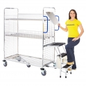Picking Trolleys With Steps