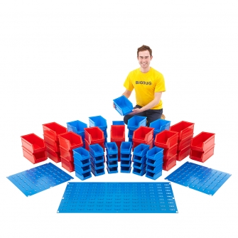 Plastic Bin Kit Mega Deal 2