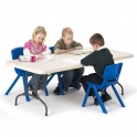 Polyfold Height Adjustable Tables